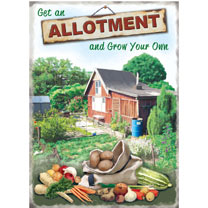Metal Sign - Allotment