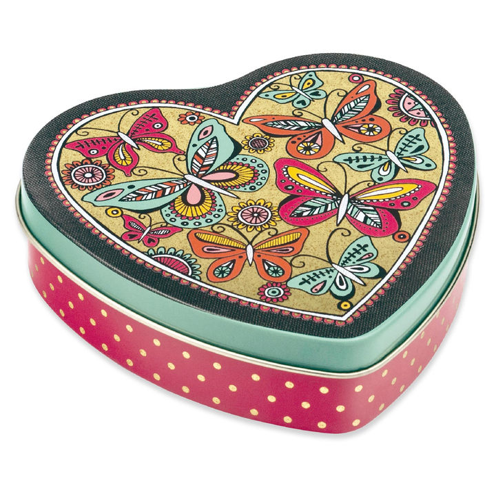 Heart Tin with Peppermint Creams