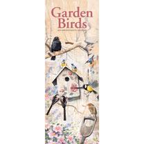 Garden Birds Slim Calendar