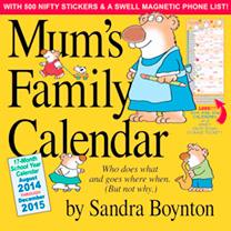 Calendar - Mum's Family