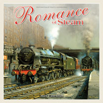 Wall Calendar - Romance of Steam