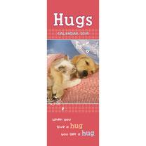 Slimline 2017 Calendar - Hugs