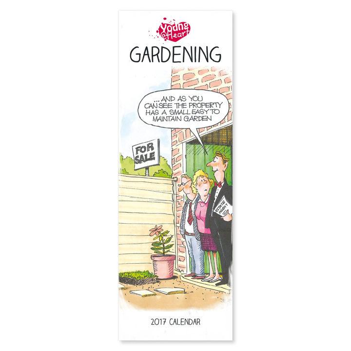 Slimline 2017 Calendar - Young at Heart Gardening
