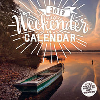 Wall Calendar - The Weekender