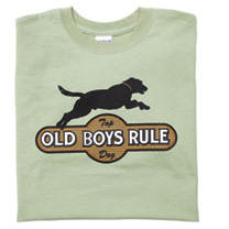 Old Boys Rule T-shirt