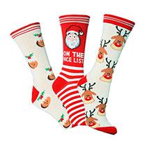 Novelty Christmas Socks - Ladies