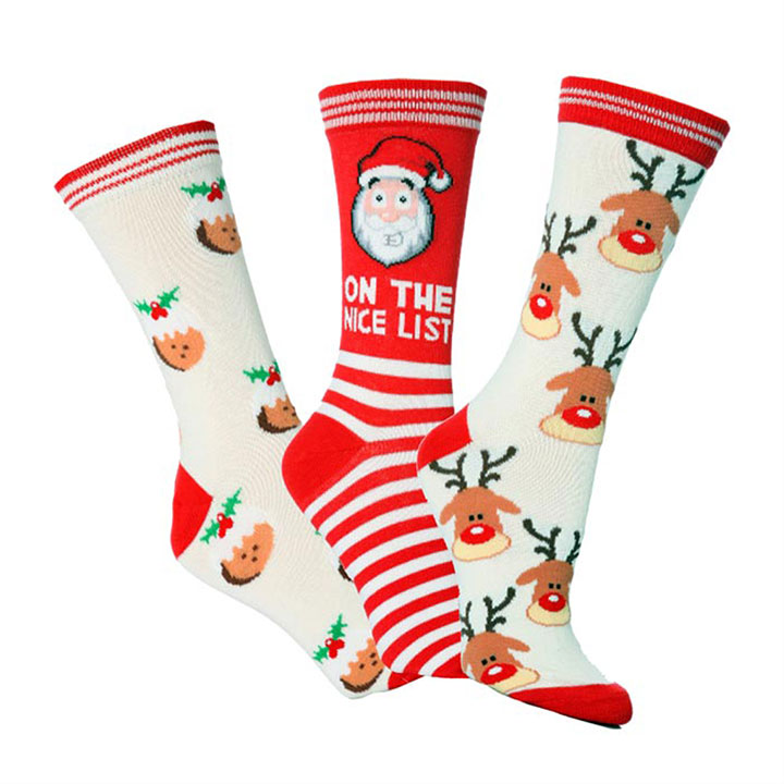 Novelty Christmas Socks - Ladies