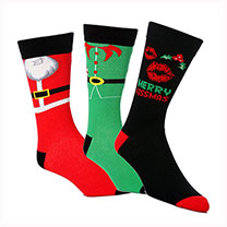 Novelty Christmas Socks - Gents