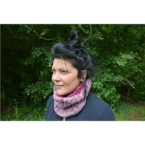 Neck Warmer Ladies Rose