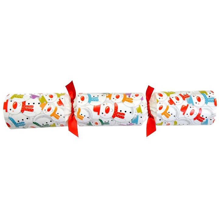 Racing Snowman & Racing Penguin Crackers