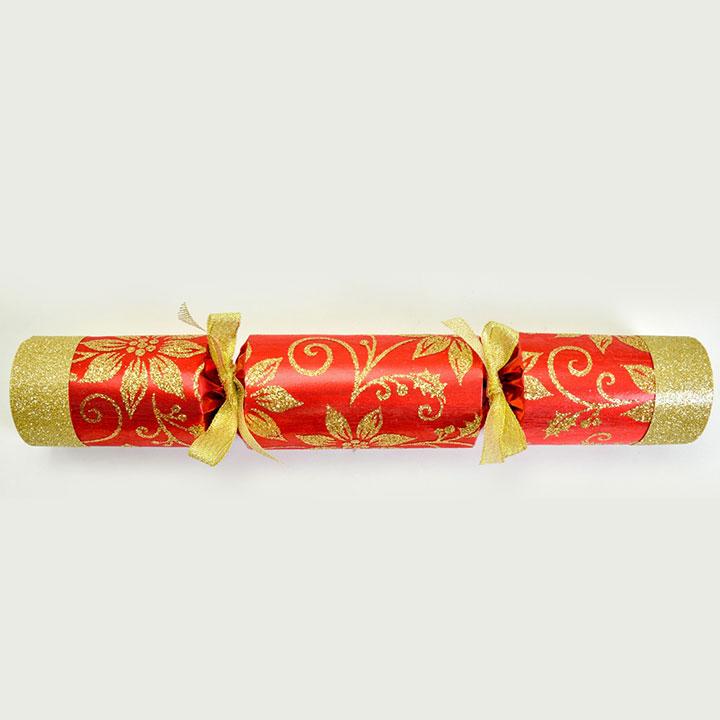 Poinsettia Crackers