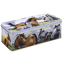 Biscuit Horse Tin
