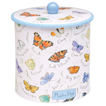 Butterfly Biscuit Barrel