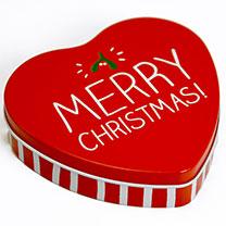 Merry Christmas Tin