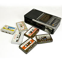 Cassette Recorder Biscuit Tin