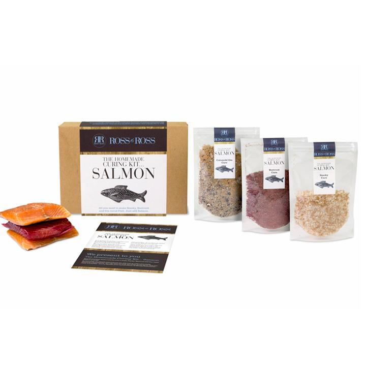 Salmon Curing Kit