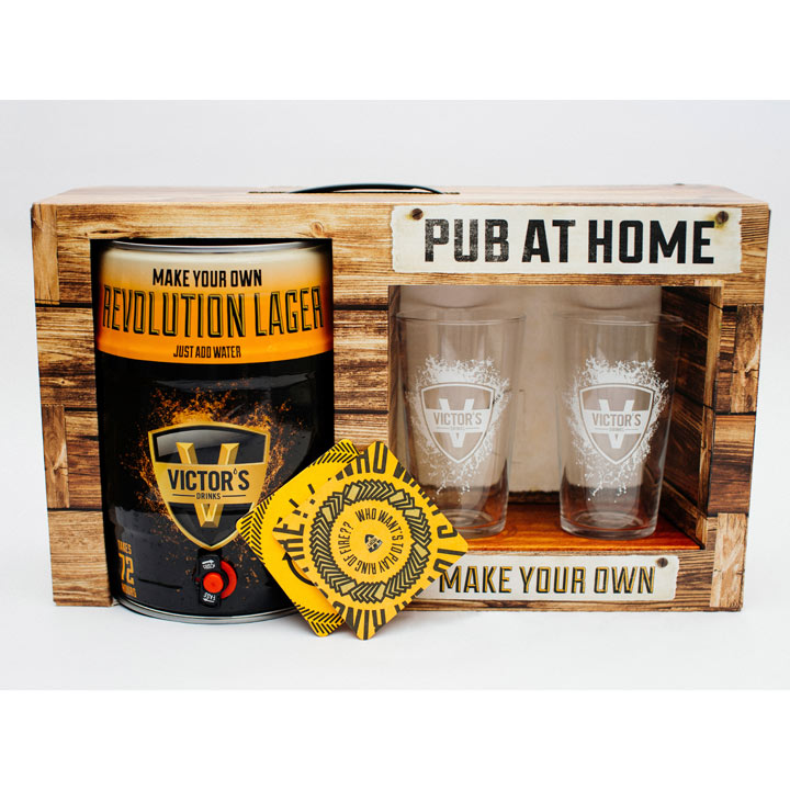Pub at Home Make Your Own Lager