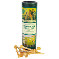 Tube of Wooden Tees