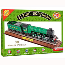 3D Flying Scotsman Puzzle