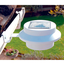 Solar Gutter Lights - White