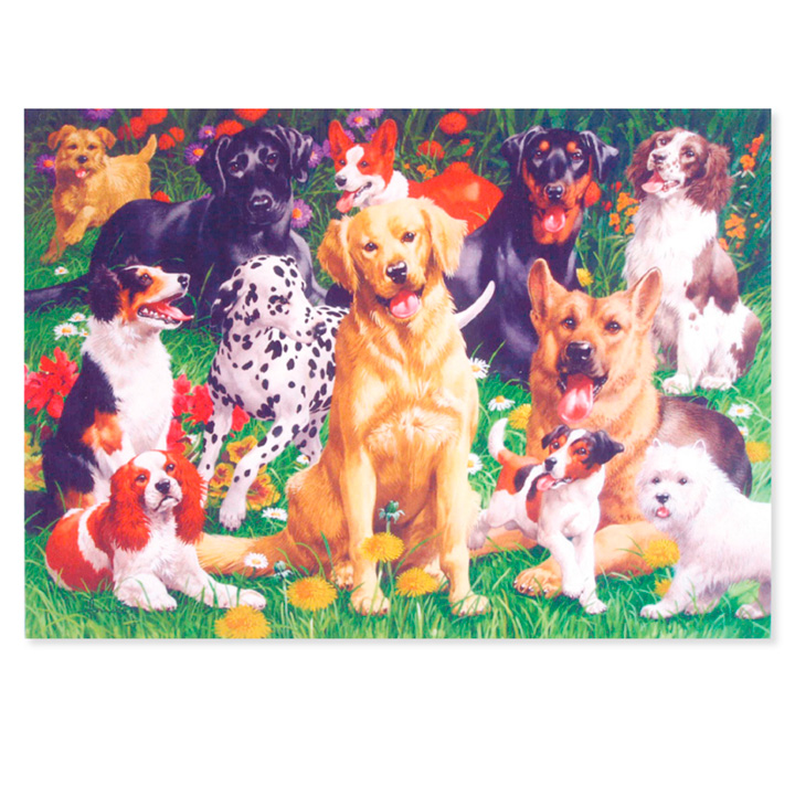 Mans Best Friend Jigsaw
