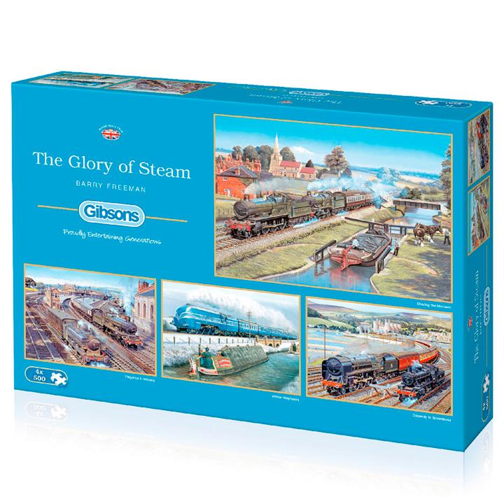 Glory of Steam Jigsaws