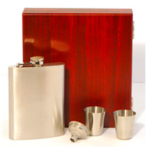 Hip Flask Gift Set
