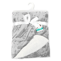 Personalised Pet Throw - Grey