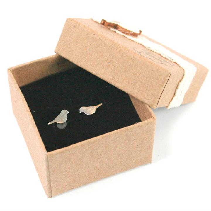 Bird Earrings & Necklace