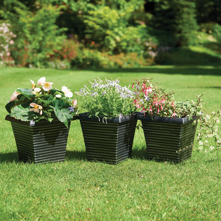 Square Tapered Planters