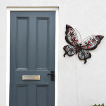 Solar Butterfly Wall Art