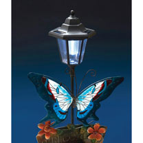 Solar Butterfly Welcome Light