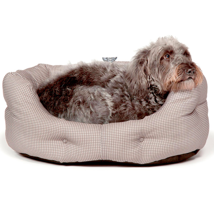 Dogstooth Slumber Bed & Duvet