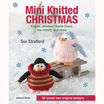 Book - Mini Knitted Christmas