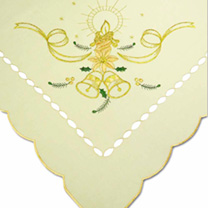 Gold Bells Table Topper