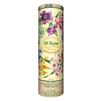 Victorian Flowers Biscuit Tube