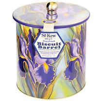 St Kew Iris Biscuit Barrel