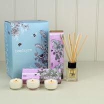 Home Fragrance Gift Box - Rhubarb & Raspberry