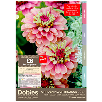 Dobies Flower & Vegetable Plant Catalogue
