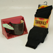 Mug & Socks Gift Set - Gents
