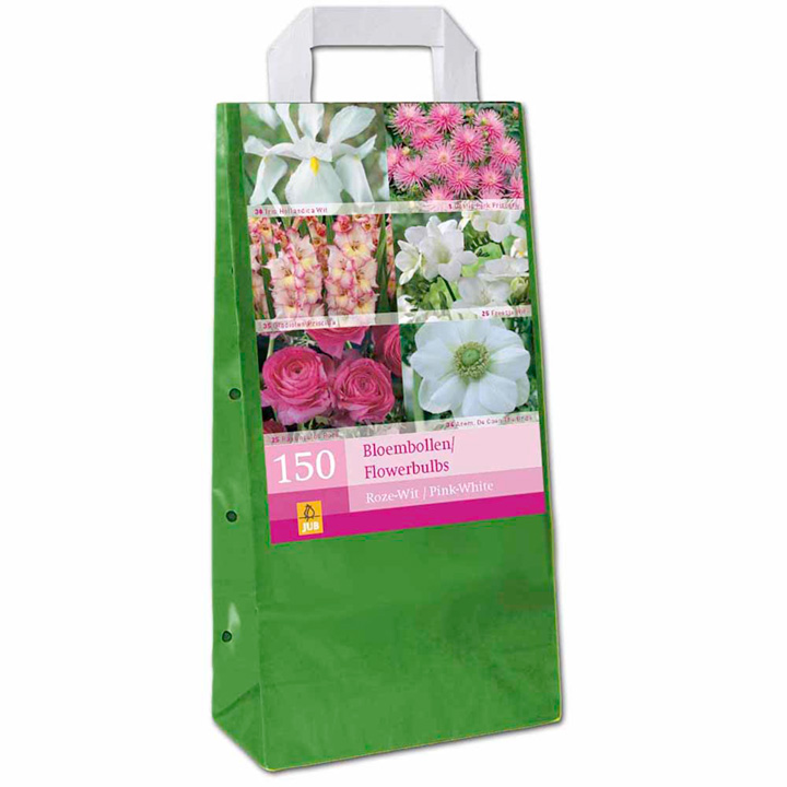 XXL Bag of Bulbs - Pink and White