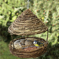 Hanging Willow Feeder
