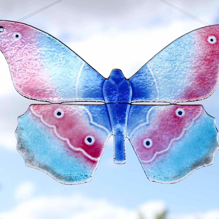 Glass Wall Art - Butterfly