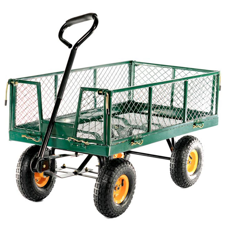 Hand Cart with Drop Sides