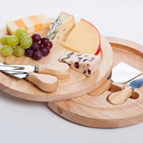 Round Cheese Board