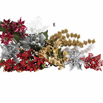 Floral Christmas Picks