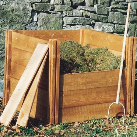 Modular Wooden Compost Bins Dobies