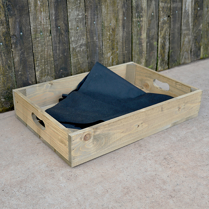 Personalised Empty Crate 1 Slat - 53 x 36 x 9cm
