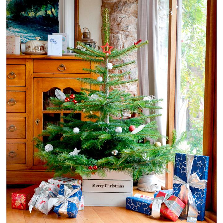 Personalised Christmas Tree Crate