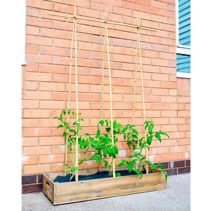 Grow Bag Wooden Crate Kit